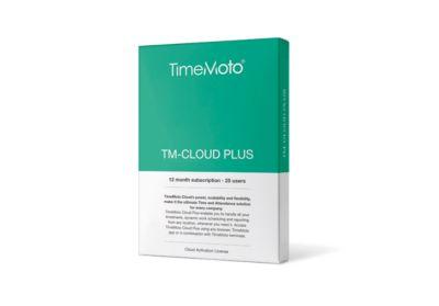 TimeMoto Cloud Plus, Jahresabonnement, bis 25 Benutzer, Export in Lohnsoftware