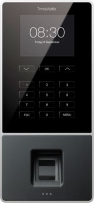 TimeMoto tijdregistratiesysteem TM-626, met RFID badge of PIN of vingerafdruk, 200 werkenemers