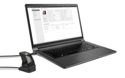 TimeMoto USB-Fingerabdruckleser FP-150, f. mobile Zeiterfassung, für TimeMoto