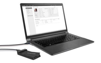 TimeMoto USB-RFID-Lesegerät RF-150, f. mobile Zeiterfassung, kompatibel m. TimeMoto