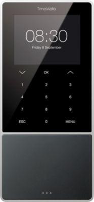 TimeMoto Zeiterfassung TM-818, Komplettsystem, ID per RFID o. PIN, 2000 Nutzer