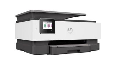 Tintenstrahl-Multifunktionsgerät HP OfficeJet Pro 8022, 4 in 1, Farbe/SW, Smart Tasks, bis A4