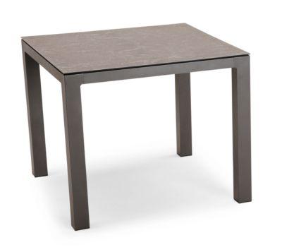 Tisch Houston, Aluminium, rechteckig, B900 x T900 mm, anthrazit