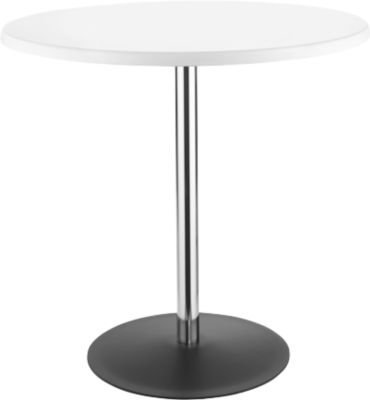 Tisch Lena, H 760 x Ø 800 mm, weiß