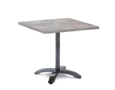 Tisch Maestro, quadratisch, klappbar, B 800 x T 800 mm, anthrazit/beton