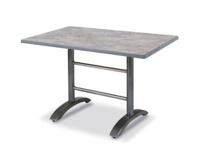Tisch Maestro, rechteckig, klappbar, B1200xT800 mm, anthrazit/beton
