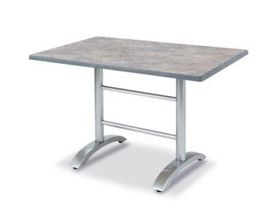 Tisch Maestro, rechteckig, klappbar, B1200xT800 mm, silber/beton