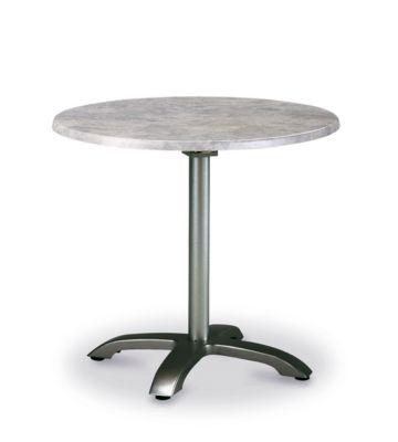 Tisch Maestro, rund, klappbar, Ø 900 mm, silber/beton