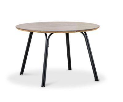 Tisch Symi, rund, Ø1200xH765 mm, anthrazit/betongrau