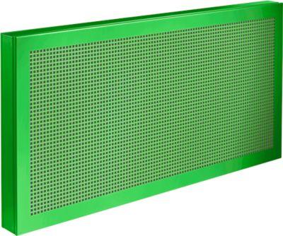 Tisch-Trennwand Akustika, B 800 x H 400 mm, grün