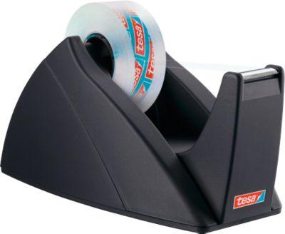 Tischabroller tesa® Basis, schwarz