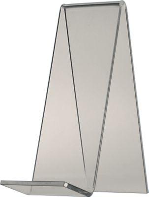 Tischaufsteller, glasklares PLEXIGLAS®, 140 mm hoch, 2 Stück