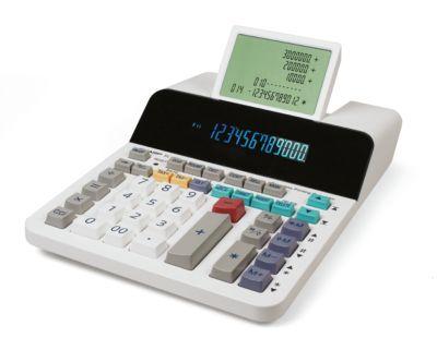 Tischrechner Sharp EL-1901, papierlos, 12 Ziffern Digitron-Anzeige, LCD-Anzeige 5-zeilig, Netzbetrieb