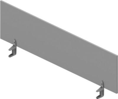 Tischtrennwand ARLON-OFFICE, 1600 mm, lichtgrau