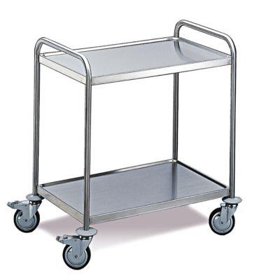 Tischwagen 2 Etagen, mittel , 800 x 500 mm