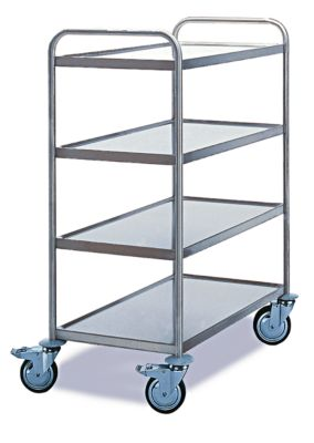 Tischwagen 4 Etagen, 800 x 500 mm