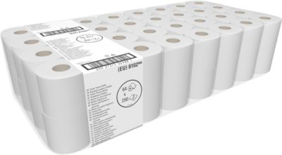Toiletpapier Kimberly Clark® KIMBI 350, 64 kleine rollen
