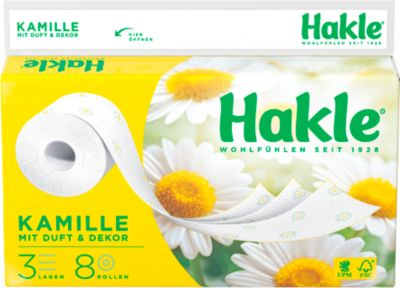 Toilettenpapier Hakle plus, 72 Rollen