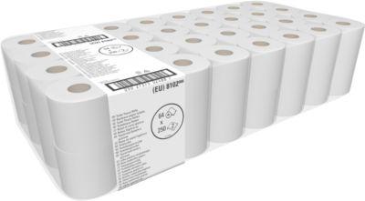 Toilettenpapier KIMBI 350, 64 Rollen