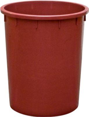 Ton, Van HDPE, stapelbaar 150 liter, rood