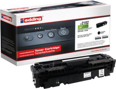 Toner edding kompatibel für HP 410A, CF410A schwarz, 2300 Seiten