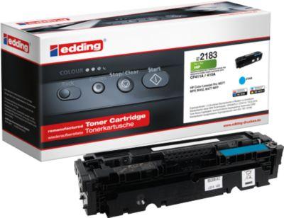 Toner edding kompatibel für HP 411A, CF411A, cyan, 2300 Seiten