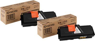 Tonercass. Kyocera TK-170, zw., 2 st.