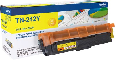 Tonercassette Brother TN-242Y geel