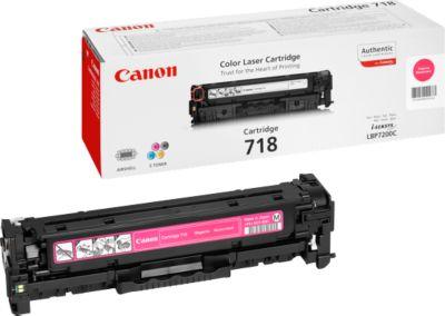 Tonercassette Canon 718 M, mag., 2900 S.