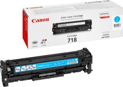 Tonercassette Canon T718C, cyaan