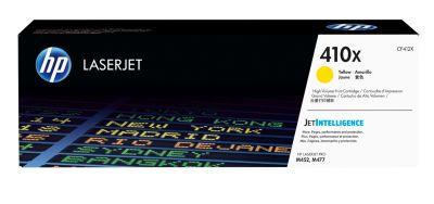 Tonercassette HP 410X geel CF412X