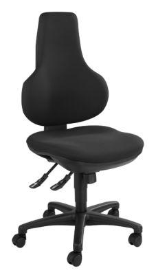 Topstar Bürostuhl ERGO POINT, Synchronmechanik, ohne Armlehnen, Spezial-Bandscheibensitz, schwarz