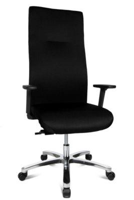 Topstar Bürostuhl XXL Big Star, Synchronmechanik, mit Armlehnen, Rückenlehnenhöhe 800 mm