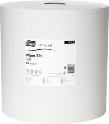TORK® Standard-Papierwischtuch 320, 370 x 340 mm, 1 Rolle