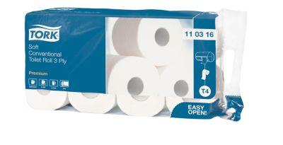 TORK® Zacht Toiletpapier Premium 3-laags, 72 rollen
