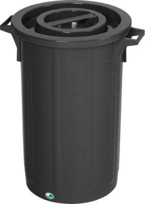 Transport- en afvalbak, 75 liter