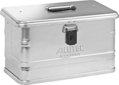 Transportbox, Aluminium, ohne Stapelecken, 29 l
