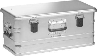 Transportbox, Aluminium, ohne Stapelecken, 47 l