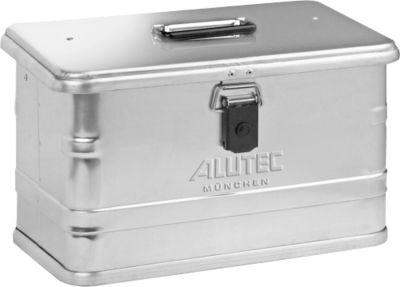 Transportbox, aluminium, zonder stapeldeksel, 29 l