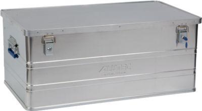 Transportbox Alutec CLASSIC 142, Aluminium, 142 l, L 895 x B 495 x H 275 mm, Zylinderschlösser