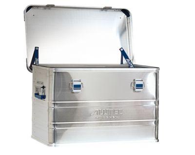 Transportbox Alutec INDUSTRY 30, aluminium, 30 l, L 430 x B 355 x H 277 mm, met stapelhoeken, stevig deksel.