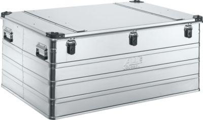 Transportbox Premium, Aluminium, mit Stapelecken, 415 l