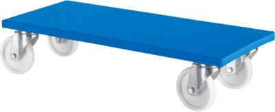Transportplank 100 K1,  600x300 mm, blauw, 2 stuks