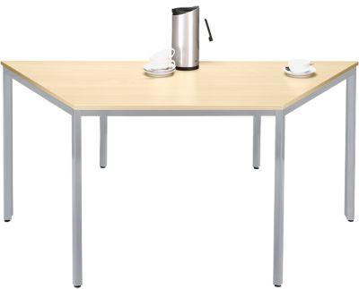 Trapez.tafel, b 1600/800 x d 800 mm, ahornd./witalu