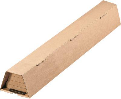 Trapezversandboxen, 485 x 112/60 x 82 mm, 10 Stück