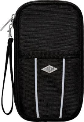 Travel-Organizer WEDO, Polyester, mit Reißverschluss & Handschlaufe, B144xT30xH231 mm, schwarz