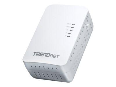 TRENDnet TPL-410AP - Bridge - 802.11b/g/n - an Wandsteckdose anschließbar