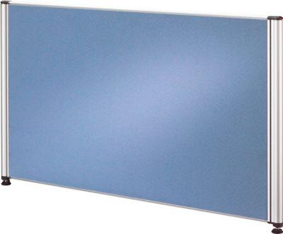 Trennwand CLUBWORK, breit, B 775 x T 22 x H 450 mm, hellblau