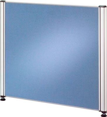 Trennwand CLUBWORK, schmal, B 530 x T 22 x H 450 mm, hellblau