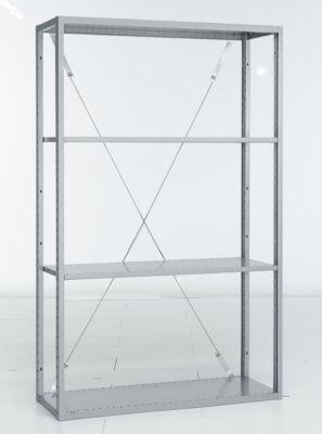 Trennwand, durchgehend, H341 x T500 mm